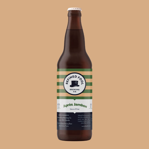 Apres Jambon 650ml Refined Fool Brewing Co.