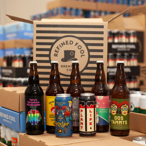Cardboard Dreams - Monthly Beer Subscription Mix Pack Refined Fool Brewing Co.