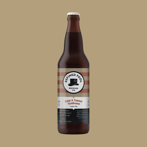 Carp and Tunnel Syndrome 650ml Refined Fool Brewing Co.