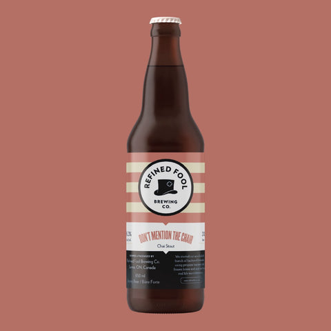 Don't Mention The Chair 650ml Refined Fool Brewing Co.
