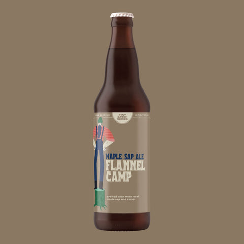 Flannel Camp - Maple Sap Ale 650ml Refined Fool Brewing Co.