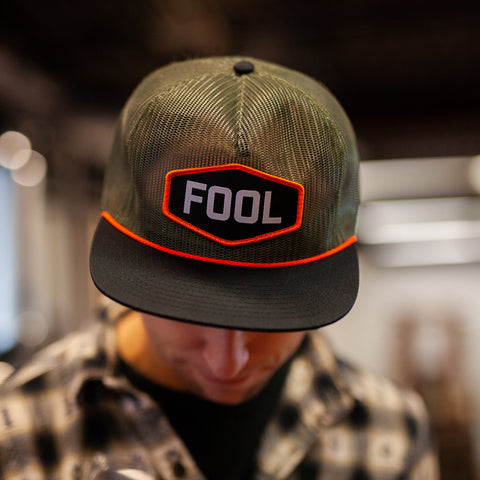 Fool Trucker Hat Merch Refined Fool Brewing Co.