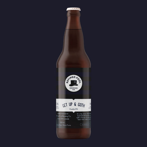 Get Up And Goth 650ml Refined Fool Brewing Co.