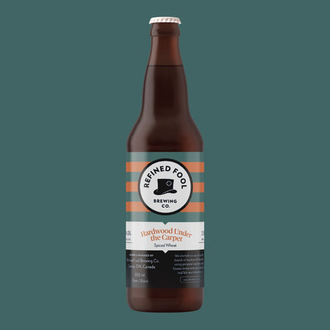Hardwood under the Carpet 650ml Refined Fool Brewing Co.
