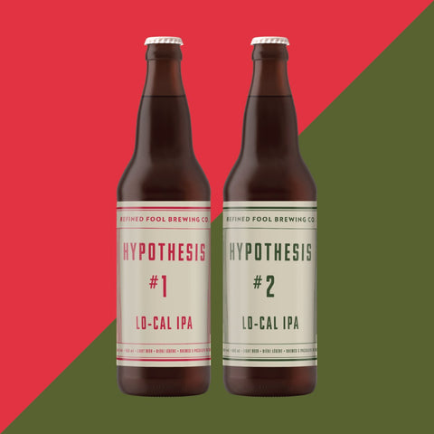 Hypothesis #1 and #2 - Lo-Cal IPA 650 Refined Fool Bottle Shop 2 Pack