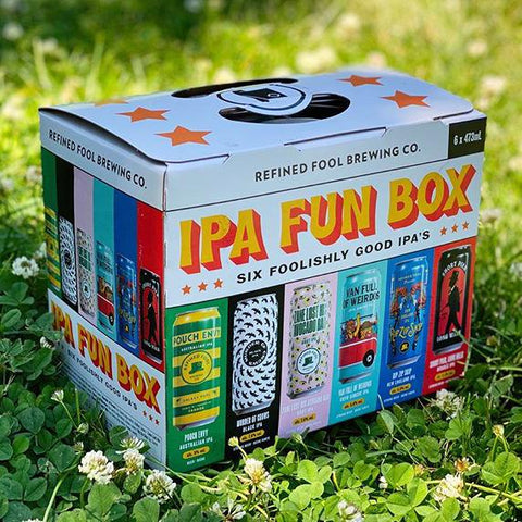 IPA Fun Box Mix Pack Refined Fool Bottle Shop
