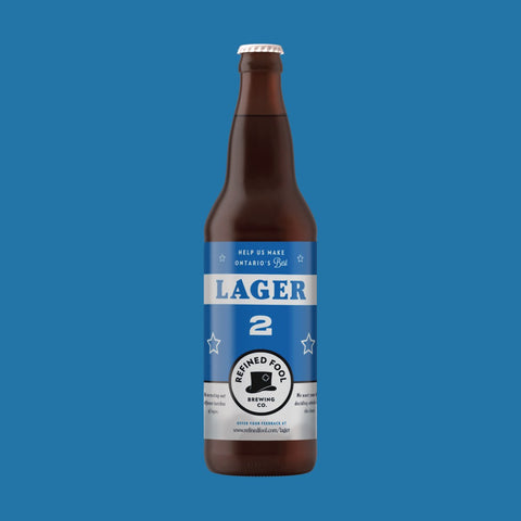 Lager 2 650ml Refined Fool Brewing Co.