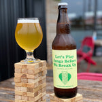 Let's Play Jenga Before We Break Up - Cucumber Lime Pilsner 650ml Refined Fool Brewing Co.