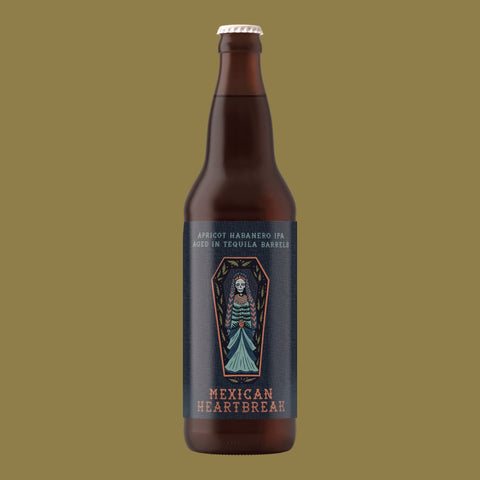 Mexican Heartbreak - Apricot Habanero IPA aged in Tequila barrels 650ml Refined Fool Brewing Co.