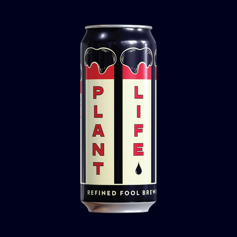 Plant Life - Stout 473ml Refined Fool Brewing Co.