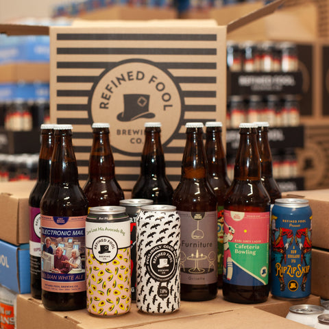 Postman's Delight - Monthly Beer Subscription Mix Pack Refined Fool Brewing Co.
