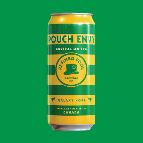 Pouch Envy - Australian IPA 473ml Refined Fool Bottle Shop Single