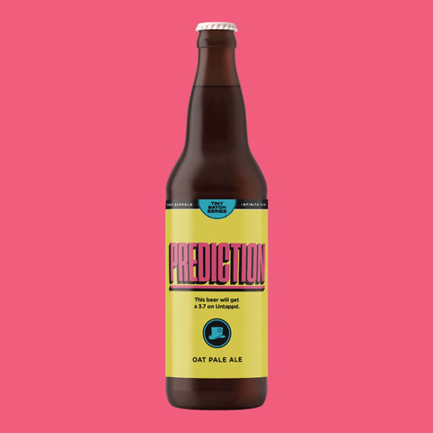 Prediction - Oat Pale Ale 650ml Refined Fool Brewing Co.