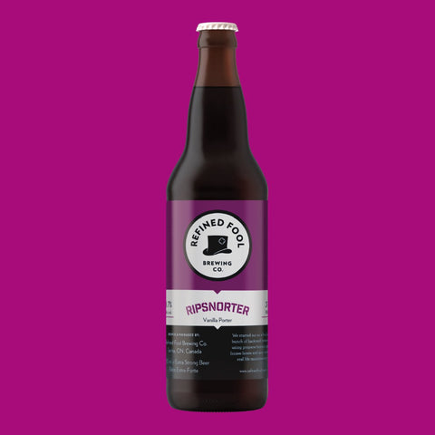 Ripsnorter - Vanilla Porter 650ml Refined Fool Brewing Co.