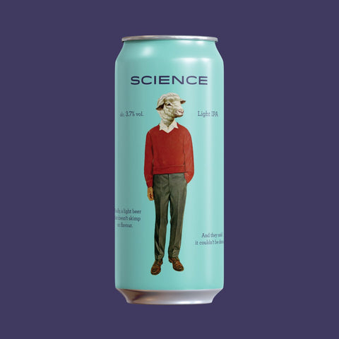 Science - Light IPA 473ml Refined Fool Brewing Co.