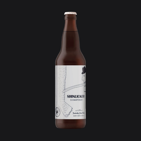 Shinlicker - Schwarzbier 650ml Refined Fool Bottle Shop