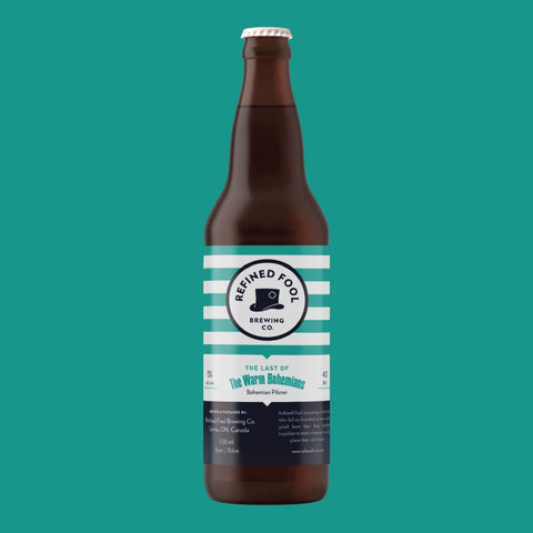 The Last Of The Warm Bohemians 650ml Refined Fool Brewing Co.