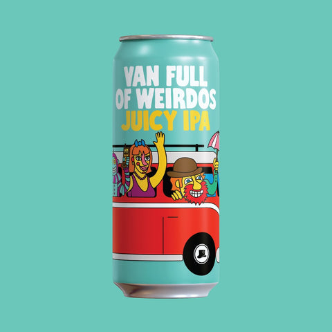 Van Full of Weirdos - Juicy IPA 473ml Refined Fool Bottle Shop
