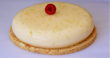 Load image into Gallery viewer, Lemon Lime & Raspberry Entremet
