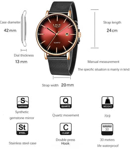 LIGE Women's Watches