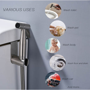 Handheld Toilet bidet sprayer set