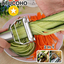 Load image into Gallery viewer, Stainless Steel Multi-function Vegetable Peeler