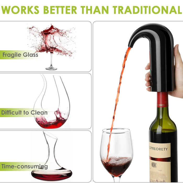 Mberlo™ Smart Wine Aerator
