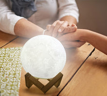 Load image into Gallery viewer, LED Night Light 3D Moon Lamp