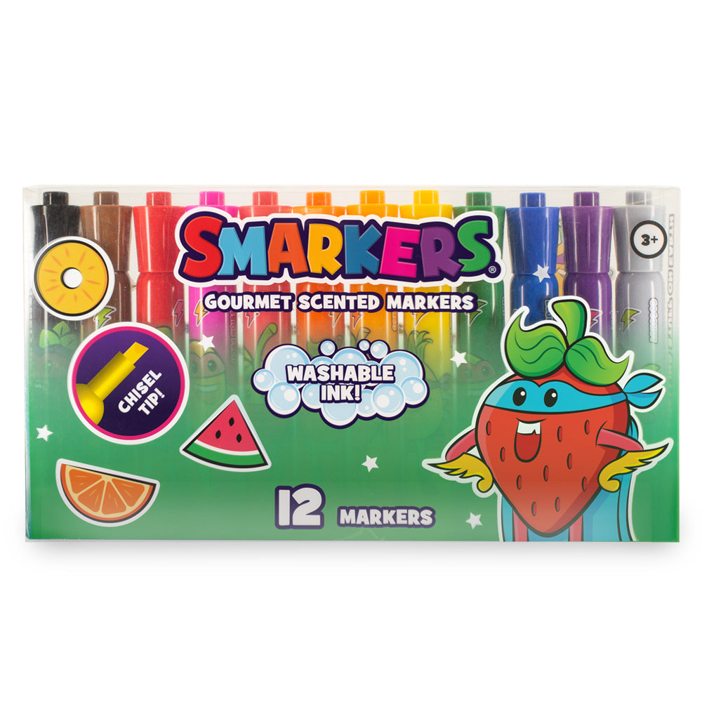 SC Washable Smarkers 12-Pack