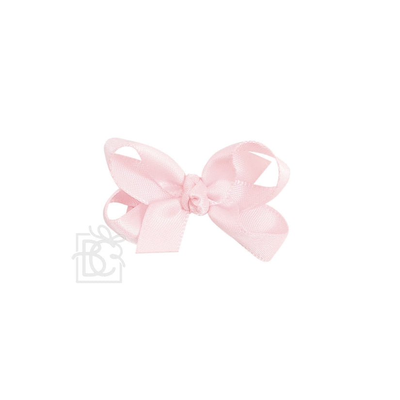 Satin Bow / Lt. Pink