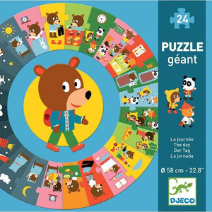 Djeco The Day Puzzle