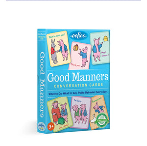 Good Manners, Conversation Cards