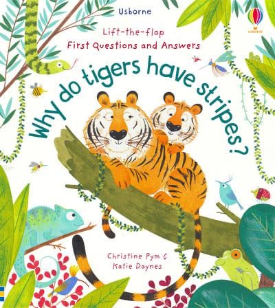 Why Do Tigers Have Stripes Book