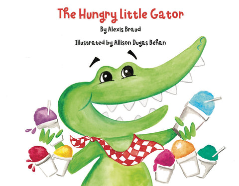 RR The Hungry Little Gator Book