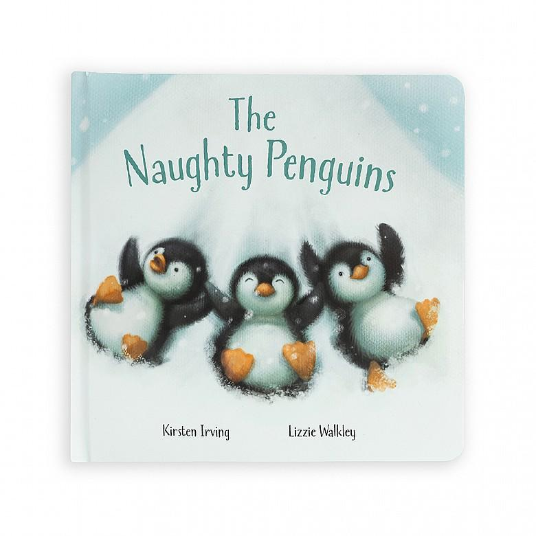 The Naughty Penguins Book- Jellycat