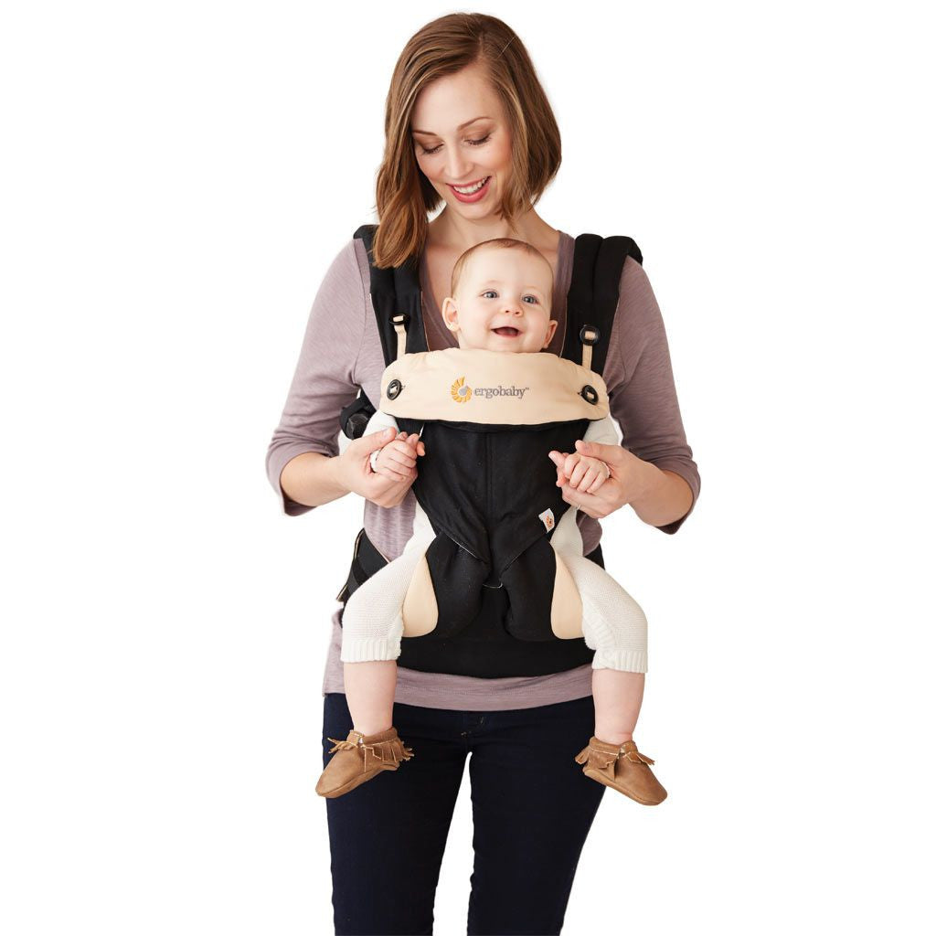 A comparison between the Ergobaby Performance Carrier, the NEW Ergobaby 360 Four Position Carrier and the Ergobaby Original Carrier