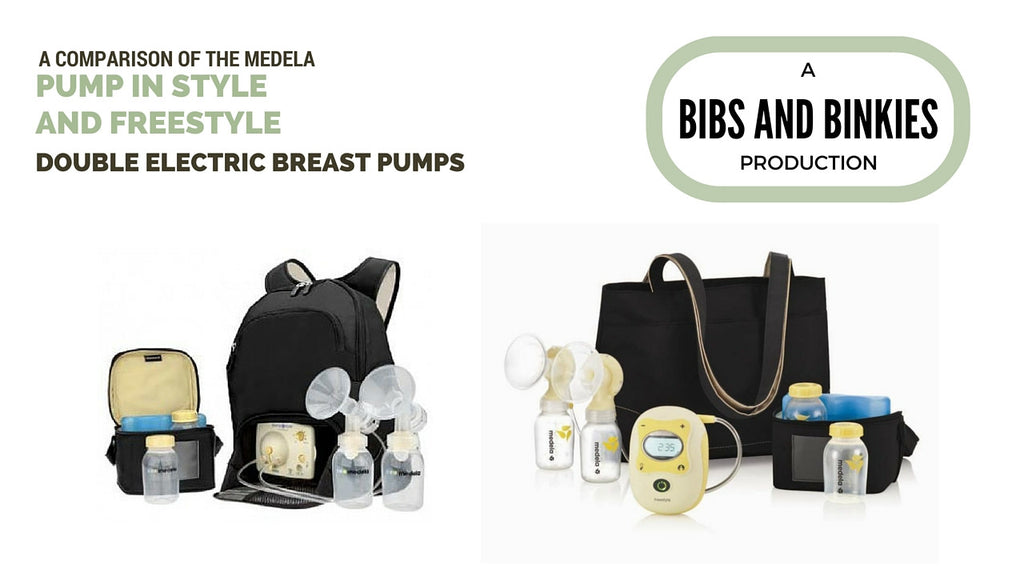 A comparison between the Pump in Style and Freestyle breast pumps by Medela