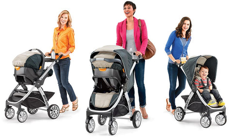 Chicco Bravo Trio Travel System With Keyfit 30 Infant Car