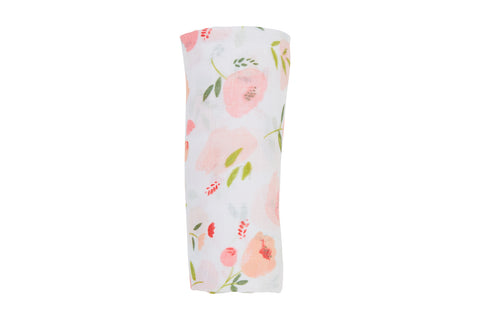 Swaddle Blanket - Pretty In Pink Floral