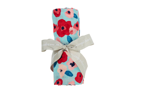 Swaddles Blanket - Poppies