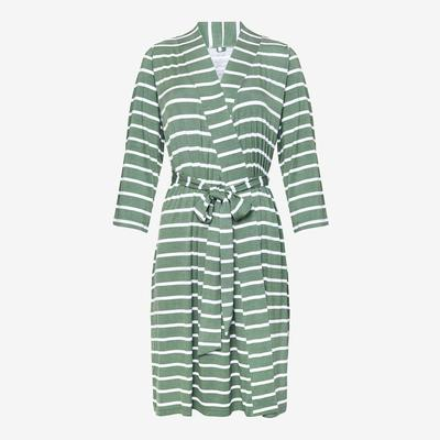 Dark Sage Stripe Robe
