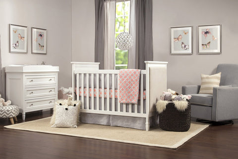 Davinci Lila 3-in-1 Convertible Crib - Bibs and Binkies - 1