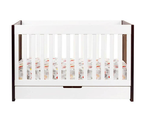 Mercer 3 in 1 Convertible Crib - Bibs and Binkies - 3