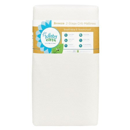 Lullaby Earth Breeze Crib Mattress - Bibs and Binkies - 1