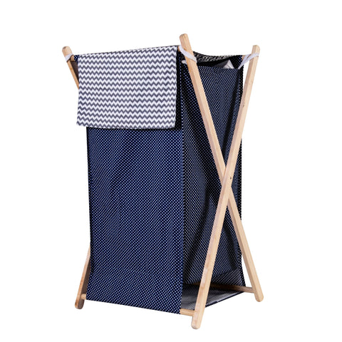 Perfectly Navy Hamper Set
