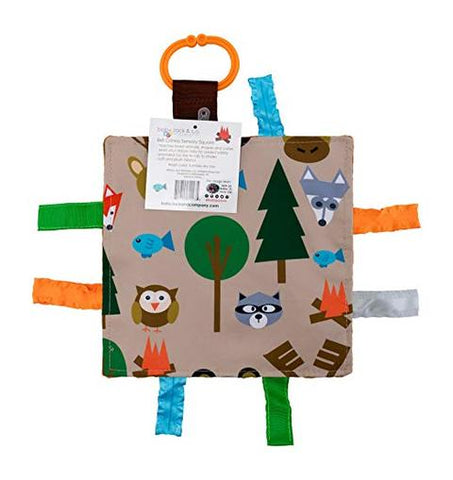 Crinkle Tag Square - Forest
