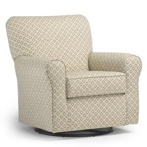 Storytime Series HAGEN Swivel Glider by Best Chairs - Bibs and Binkies