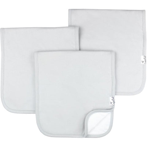 Premium Burp Cloths - Grey Basics