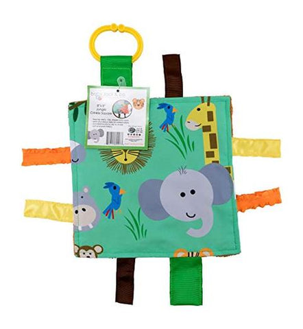 Crinkle Tag Square - Jungle Zoo