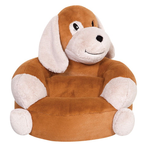 Children's Plush Puppy Character Chair